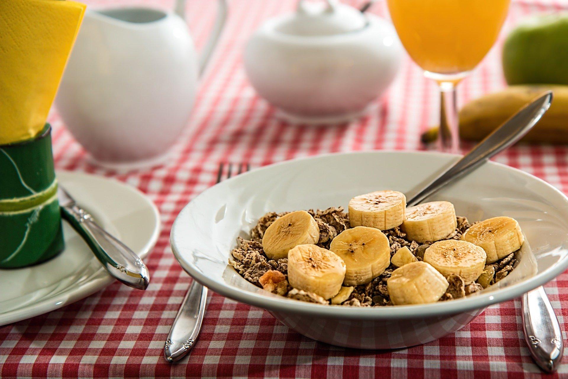 Miminkovská snídaně