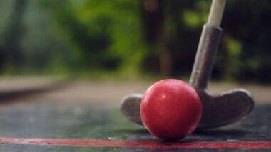 Minigolf v Křimicích